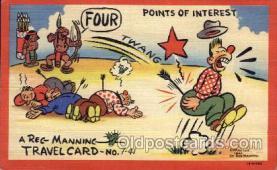 xrt277024 - Travelcard No. 7-41 Artist Reg Manning Postcards, Post Cards