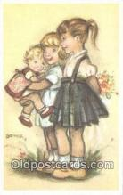 xrt284011 - Artist Bonnie Postcard Post Card Old Vintage Antique Series # 595