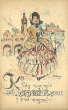 xrt287001 - Artist Cihelky Postcard Post Card Old Vintage Antique