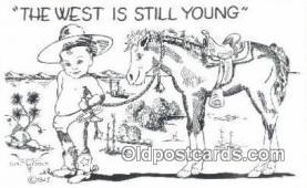 xrt291008 - Artist Cabot Colt Postcard Post Card Old Vintage Antique Series # W-9