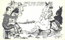 xrt291017 - Artist Cabot Colt Postcard Post Card Old Vintage Antique Series # W-14