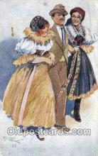 xrt292003 - Artist Oldrich Cihelka Postcard Post Card Old Vintage Antique Series # 0 7 6