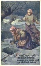xrt293027 - Artist Vaclav Cutta Postcard Post Card Old Vintage Antique Series # 750-1