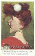 xrt297005 - Artist A. Baumann Postcard Post Card Old Vintage Antique