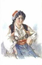 xrt300002 - Artist Dedina, Jan Postcard, Post Card, Old Vintage Antique