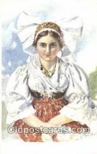 xrt300014 - Artist Dedina, Jan Postcard, Post Card, Old Vintage Antique