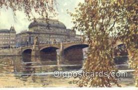 xrt301001 - Artist Engelmuller, F. Postcard, Praha, Prague, Czech Republic, Post Card, Old Vintage Antique