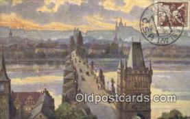 xrt301002 - Artist Engelmuller, F. Postcard, Praha, Prague, Czech Republic, Post Card, Old Vintage Antique