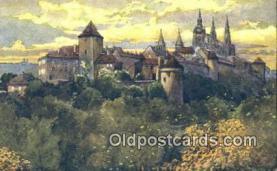 xrt301004 - Artist Engelmuller, F. Postcard, Praha, Prague, Czech Republic, Post Card, Old Vintage Antique
