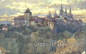 xrt301005 - Artist Engelmuller, F. Postcard, Praha, Prague, Czech Republic, Post Card, Old Vintage Antique