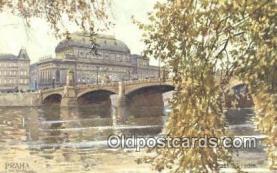 xrt301006 - Artist Engelmuller, F. Postcard, Praha, Prague, Czech Republic, Post Card, Old Vintage Antique
