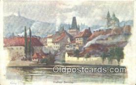 xrt301008 - Artist Engelmuller, F. Postcard, Praha, Prague, Czech Republic, Post Card, Old Vintage Antique