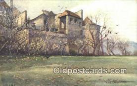 xrt301009 - Artist Engelmuller, F. Postcard, Praha, Prague, Czech Republic, Post Card, Old Vintage Antique