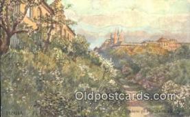 xrt301011 - Artist Engelmuller, F. Postcard, Praha, Prague, Czech Republic, Post Card, Old Vintage Antique