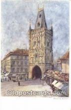 xrt301017 - Artist Engelmuller, F. Postcard, Praha, Prague, Czech Republic, Post Card, Old Vintage Antique