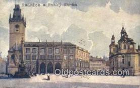 xrt301018 - Artist Engelmuller, F. Postcard, Praha, Prague, Czech Republic, Post Card, Old Vintage Antique