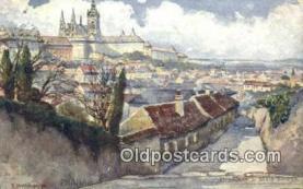 xrt301020 - Artist Engelmuller, F. Postcard, Praha, Prague, Czech Republic, Post Card, Old Vintage Antique