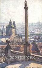 xrt301031 - Artist Engelmuller, F. Postcard, Praha, Prague, Czech Republic, Post Card, Old Vintage Antique
