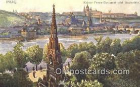 xrt301033 - Artist Engelmuller, F. Postcard, Praha, Prague, Czech Republic, Post Card, Old Vintage Antique
