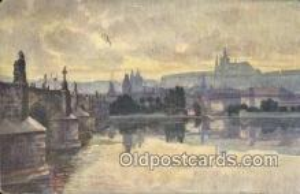 xrt301034 - Artist Engelmuller, F. Postcard, Praha, Prague, Czech Republic, Post Card, Old Vintage Antique
