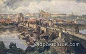 xrt301038 - Artist Engelmuller, F. Postcard, Praha, Prague, Czech Republic, Post Card, Old Vintage Antique
