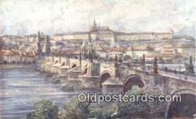 xrt301040 - Artist Engelmuller, F. Postcard, Praha, Prague, Czech Republic, Post Card, Old Vintage Antique