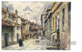 xrt301048 - Artist Engelmuller, F. Postcard, Praha, Prague, Czech Republic, Post Card, Old Vintage Antique