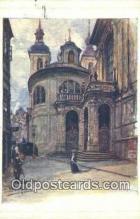 xrt301051 - Artist Engelmuller, F. Postcard, Praha, Prague, Czech Republic, Post Card, Old Vintage Antique