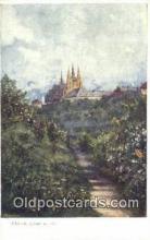 xrt301056 - Artist Engelmuller, F. Postcard, Praha, Prague, Czech Republic, Post Card, Old Vintage Antique