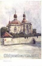 xrt301057 - Artist Engelmuller, F. Postcard, Praha, Prague, Czech Republic, Post Card, Old Vintage Antique
