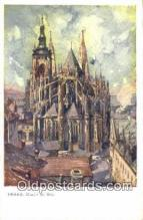 xrt301058 - Artist Engelmuller, F. Postcard, Praha, Prague, Czech Republic, Post Card, Old Vintage Antique