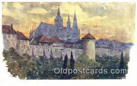 xrt301061 - Artist Engelmuller, F. Postcard, Praha, Prague, Czech Republic, Post Card, Old Vintage Antique