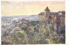 xrt301064 - Artist Engelmuller, F. Postcard, Praha, Prague, Czech Republic, Post Card, Old Vintage Antique