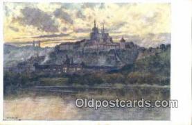 xrt301066 - Artist Engelmuller, F. Postcard, Praha, Prague, Czech Republic, Post Card, Old Vintage Antique