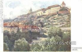 xrt301070 - Artist Engelmuller, F. Postcard, Praha, Prague, Czech Republic, Post Card, Old Vintage Antique