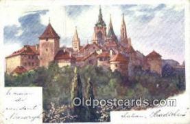 xrt301071 - Artist Engelmuller, F. Postcard, Praha, Prague, Czech Republic, Post Card, Old Vintage Antique
