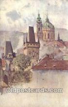 xrt301075 - Artist Engelmuller, F. Postcard, Praha, Prague, Czech Republic, Post Card, Old Vintage Antique