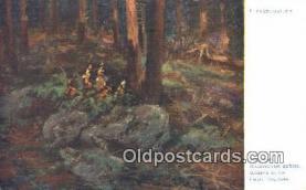 xrt301076 - Artist Engelmuller, F. Postcard, Praha, Prague, Czech Republic, Post Card, Old Vintage Antique
