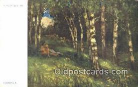 xrt301077 - Artist Engelmuller, F. Postcard, Praha, Prague, Czech Republic, Post Card, Old Vintage Antique