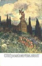 xrt301078 - Artist Engelmuller, F. Postcard, Praha, Prague, Czech Republic, Post Card, Old Vintage Antique
