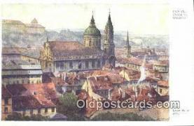 xrt301079 - Artist Engelmuller, F. Postcard, Praha, Prague, Czech Republic, Post Card, Old Vintage Antique