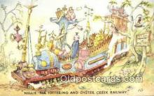 xrt302001 - Artist Emett, Rowland Postcard, Nellie-Far Totteringand Oyster Creek Railway Post Card, Old Vintage Antique