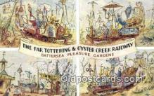 xrt302002 - Artist Emett, Rowland Postcard, Nellie-Far Totteringand Oyster Creek Railway Post Card, Old Vintage Antique