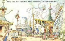 xrt302004 - Artist Emett, Rowland Postcard, Nellie-Far Totteringand Oyster Creek Railway Post Card, Old Vintage Antique