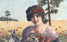 xrt317009 - Artist Dobrowolski Postcard Post Card, Old Vintage Antique