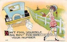 xrt333158 - Artist EL White Don't Fool Yourself Postcard Post Card