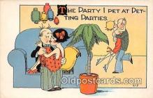 xrt333169 - Artist EL White Parties Postcard Post Card