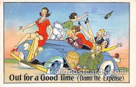 xrt333240 - Artist EL White Good Time Postcard Post Card