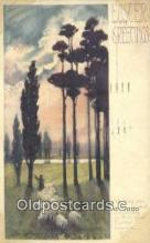 xrt338035 - Artist Lyman Powell Postcard Post Card, Old Vintage Antique