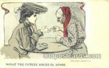 xrt342005 - Artist Rhodes Postcard Post Card, Old Vintage Antique